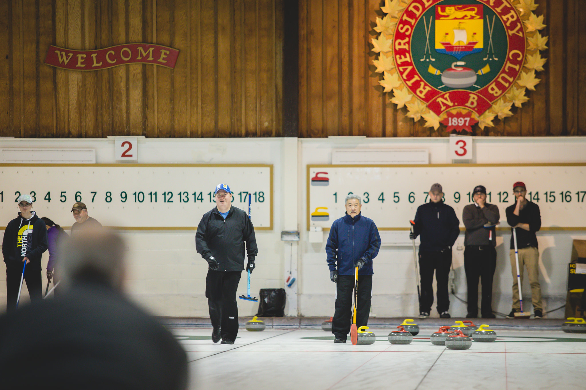 The Fun and Friends of Curling at Riverside